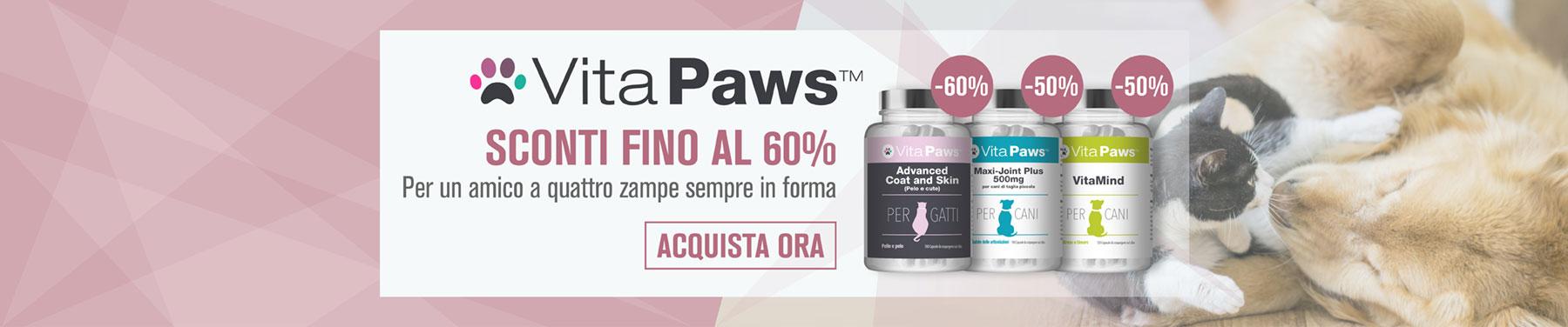 VitaPaws - Sconti fino al 60%