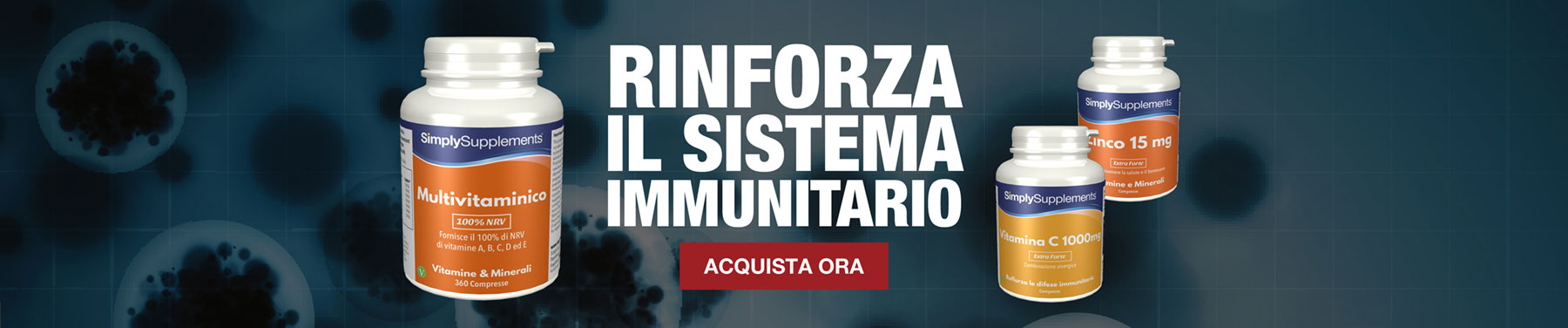 RINFORZAIL SISTEMA IMMUNITARIO