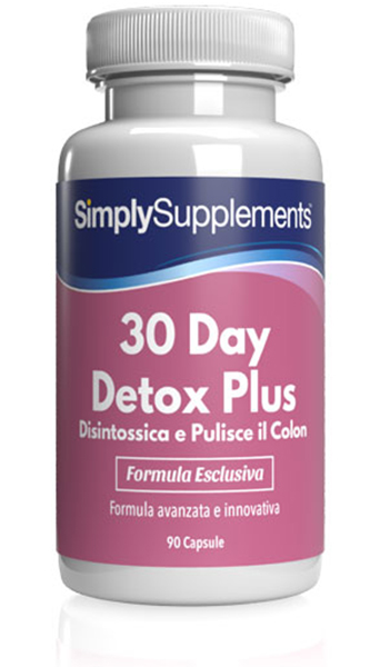 30 Day Detox Plus - Disintossica e Pulisce il Colon