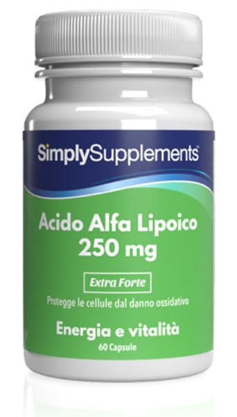 60 Capsule Tub - alpha lipoic acid supplements