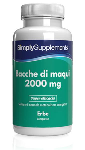 Maqui Berry 2000mg - 180 Tablet Tub
