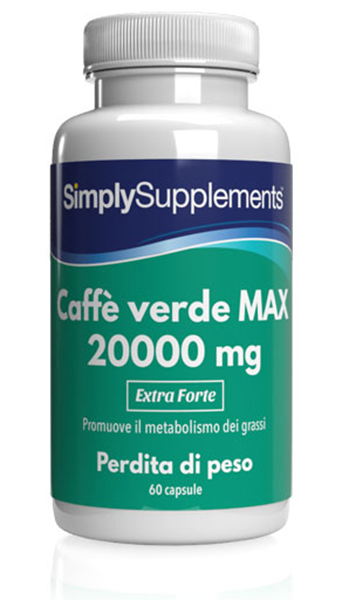 Green Coffee Bean MAX 20000mg - 60 Capsule Blister Pack