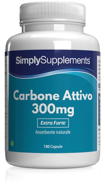 Carbone attivo 300 mg