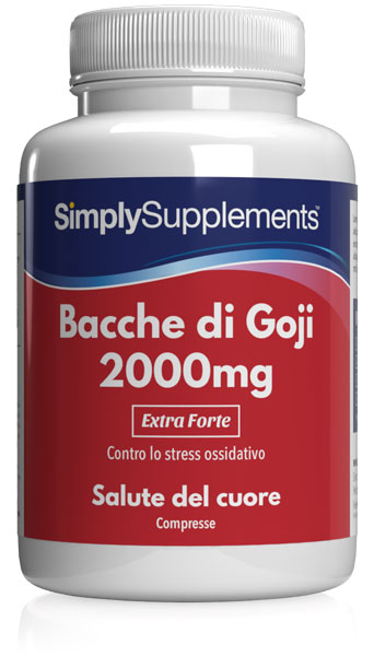 180 Tablet Tub - goji berry extract Compresse