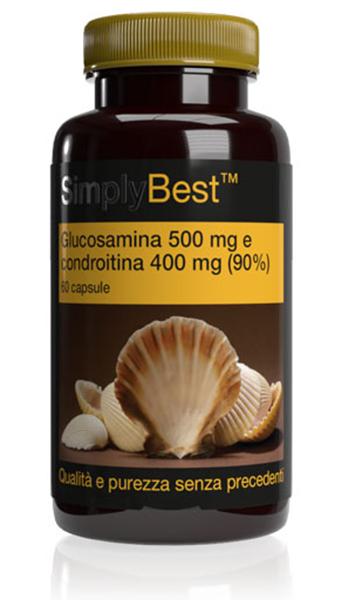 Glucosamina 500 mg | Condroitina 400 mg (90%) SB