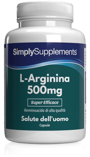 240 Capsule Tub - l-arginine supplement 500mg