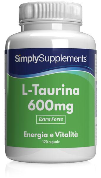 L-Taurine 120 Capsule Tub - Buy Taurine Supplements