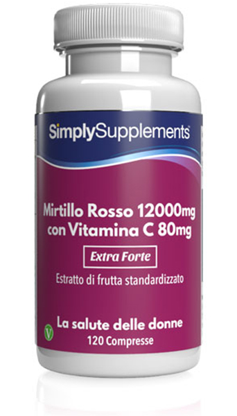 120 Tablet Tub - high strength cranberry Compresse