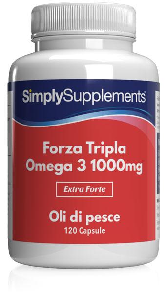 240 Capsule Tub - omega 3 1000mg