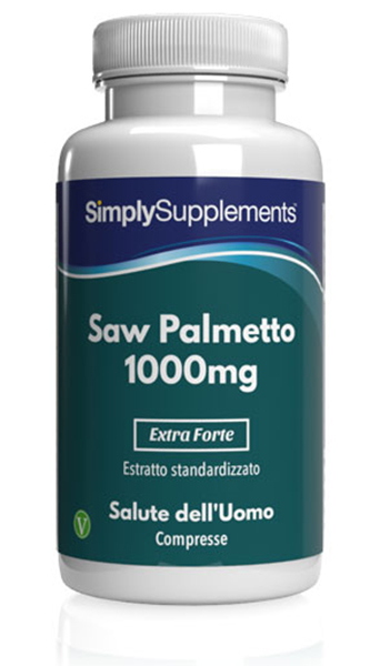 120 Tablet Tub - saw palmetto 1000 mg