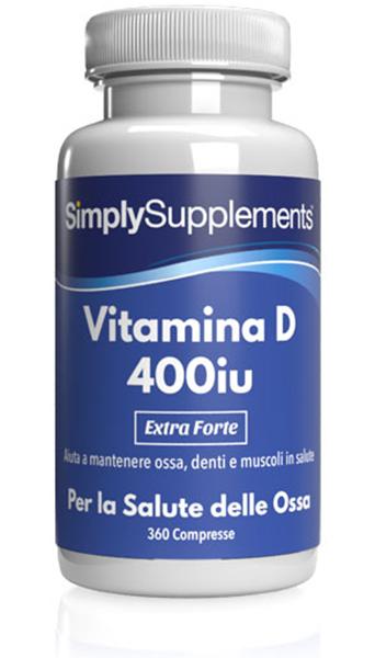 Vitamina D2 400 UI