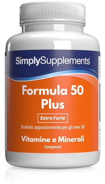 180 Tablet Tub - multivitamins 50 plus