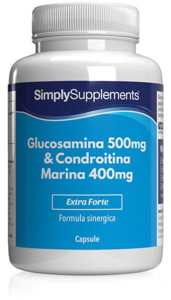 120 Capsule Tub - glucosamine and chondroitin