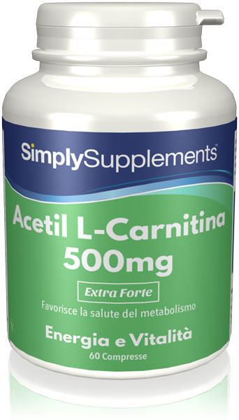 60 Capsule Tub - acetyl l carnitine uk