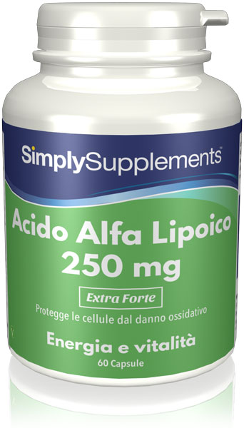 Acido Alfa Lipoico 250 mg