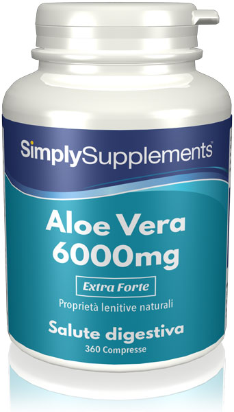 360 Tablet Tub - aloe vera Compresse