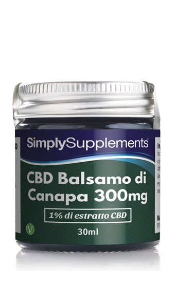 Balsamo CBD all'1%