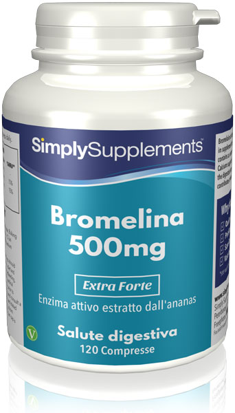 120 Capsule Tub - bromelain supplement