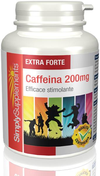 120 Capsule Tub - Caffeine Supplements 200mg