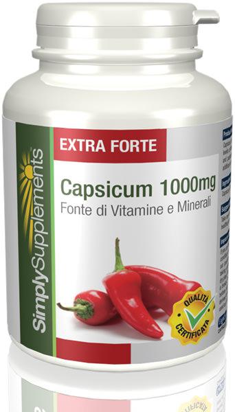 60 Capsule Tub - capsicum Compresse
