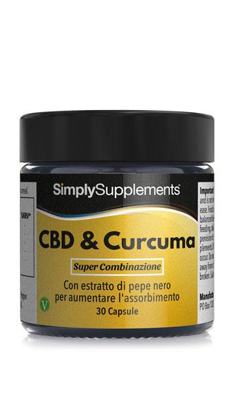 CBD & Curcuma con pepe nero