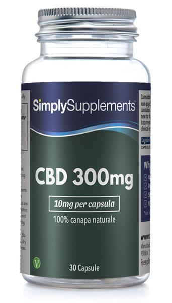 CBD 300mg (10mg per capsula)