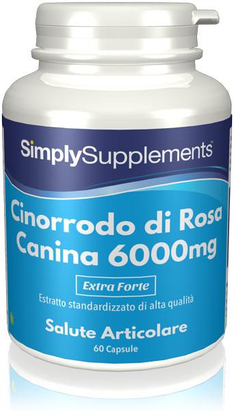 Cinorrodo di rosa canina  6000 mg