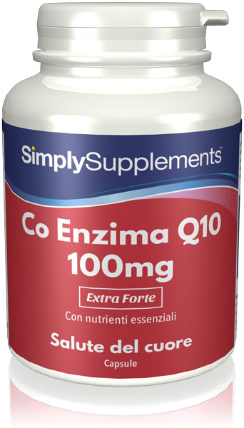 Coenzyme Vitamin 100mg - 180 Capsule Blister Pack