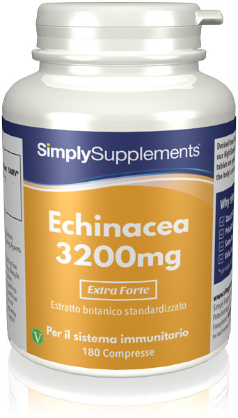 180 Tablet Tup - echinacea 3200mg Compresse