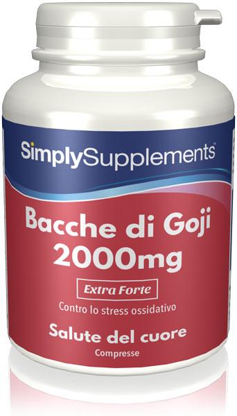 Estratto di Bacche di Goji 2000 mg