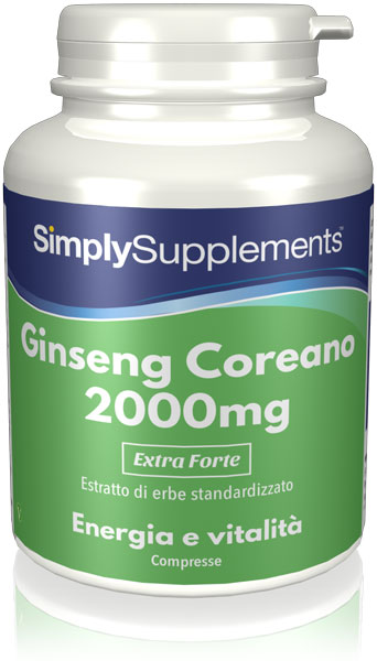 120 Tablet Tub - korean ginseng Compresse