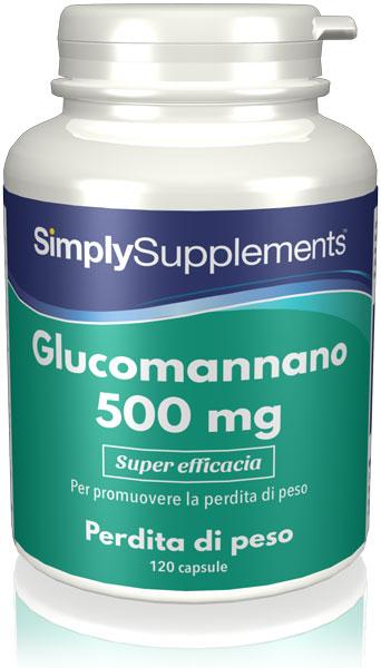 Glucomannano 500 mg