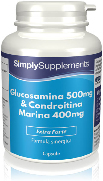 Glucosamina 500 mg | Condroitina 400 mg