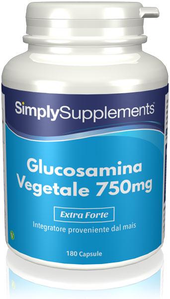 Glucosamina vegetale 750 mg