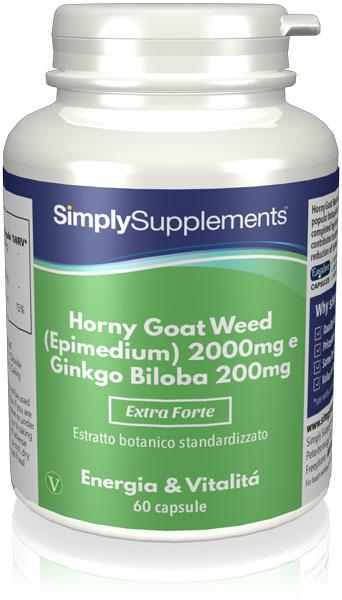 60 Capsule Tub - horny goat weed