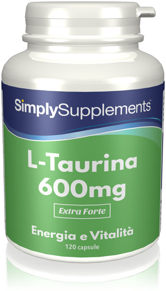 L-Taurine 120 Capsule Tub - Buy Taurine Supplements