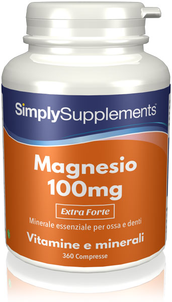 360 Tablet Tub - magnesium Compresse 100mg