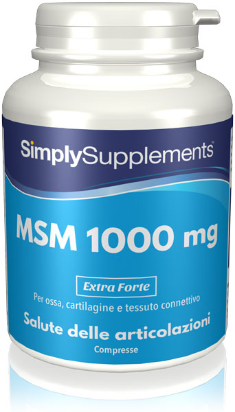 360 Tablet Tub - msm Compresse 1000mg