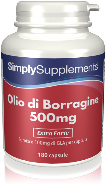 Olio di Borragine 500 mg