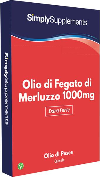 Olio di fegato di merluzzo 1000 mg blister