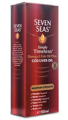 Olio di Fegato di Merluzzo Extra Forte Seven Seas