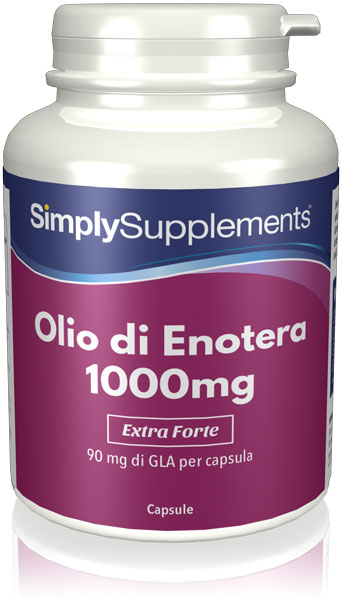 180 Capsule Tub - Evening primrose supplement
