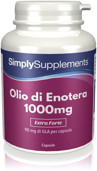 Olio di Enotera 1000 mg