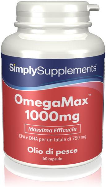 60 Capsule Blister Pack - omegamax