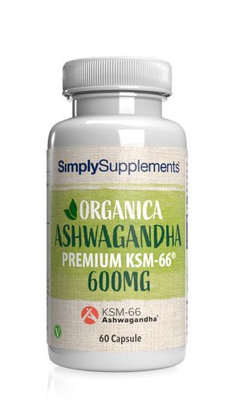 Organica Ashwagandha  KSM-66® 600mg