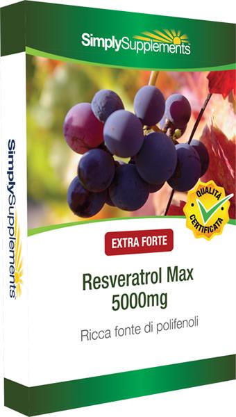 60 Capsule Blister Pack - resveratrol 5000mg