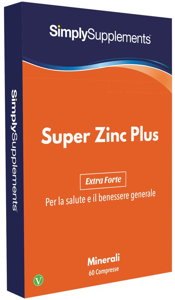 60 Tablet Blister Pack - super zinc