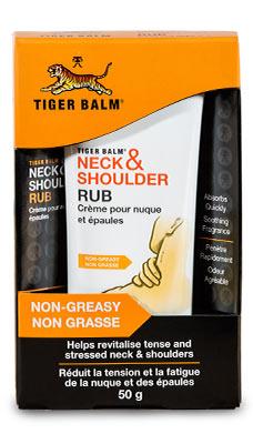 Tiger Balm per collo e spalle