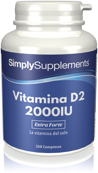 Vitamina D2 2000 UI