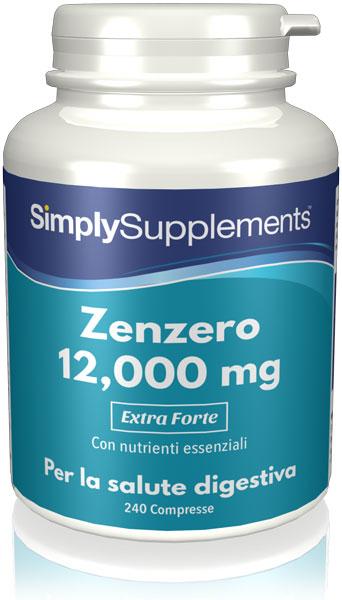 Zenzero 12000 mg